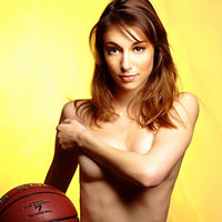 Nessjia Topless Basketball